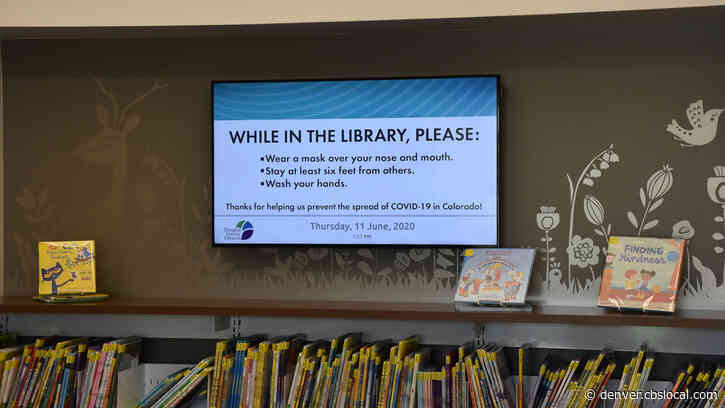 Reopening Colorado: Douglas County Libraries Reopen To Readers Who Will Notice Some Changes