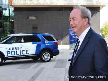 Seven people appointed to Surrey's first municipal police board