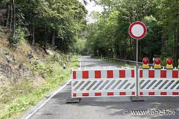 Unwetter in Sachsen-Anhalt: Straße bei Wernigerode gesperrt - TAG24