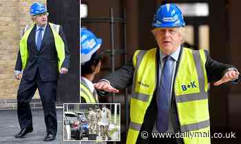 Boris Johnson unveils massive programme to construct schools, hospitals and roads