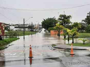Defesa Civil alerta para chuva forte e intensa na região de Sorocaba na terça-feira - G1