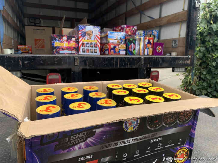 Hundreds Of Illegal Fireworks Discovered In Mount Washington House Fire