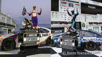 Hamlin and Harvick dominate NASCAR Cup Series Pocono doubleheader