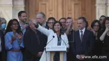 La socialista Anne Hidalgo proclama su victoria en París - Agencia EFE