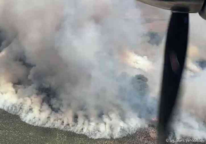 Miller Fire Burns Through More Than 5,500 Acres in Eastern Nevada