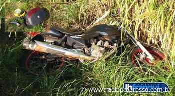 Motociclista de 20 anos morre após acidente de trânsito em Cerro Largo - Rádio Progresso de Ijuí