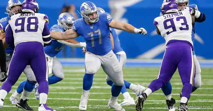 Notes: Frank Ragnow named most underrated Detroit Lions player