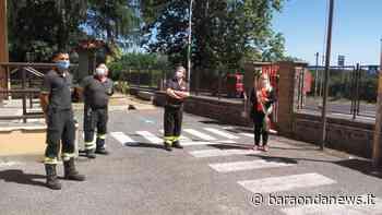 Bracciano, donate le bandiere alla caserma dei vigili del fuoco - BaraondaNews