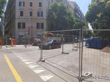Flaminio, così proseguono i lavori di restyling in viale del Vignola - Flaminio-Parioli - romah24.com