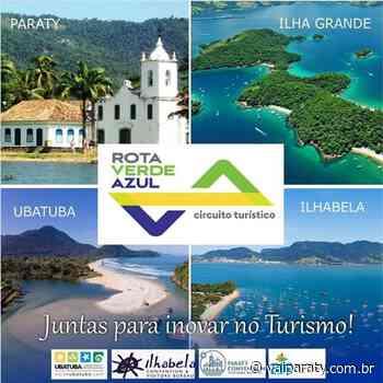 """Convention & Visitors Bureau de Paraty realiza live para apresentação do Projeto """"Rota Verde Azul"""" que integra Ilhabela, Ubatuba, Angra dos Reis e Paraty - VaiParaty"""