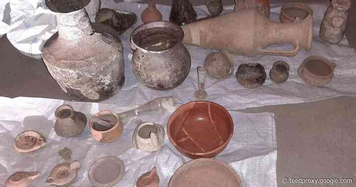 Police recover 4,600 antiquities after busting archaeological crime gang in Bulgaria