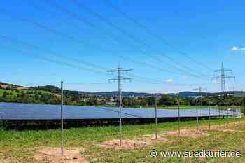 Stockach/Orsingen-Nenzingen: Solarstromanlage an der Autobahn - SÜDKURIER Online