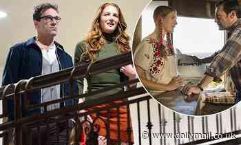 Jon Hamm, 49, 'is dating former Mad Men co-star Anna Osceola, 32' - Daily Mail