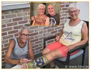 Ani Theri pimpt gips van gouden echtpaar Marie-Térèsa en Georges - Het Belang van Limburg