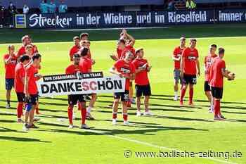 Das war die turbulente Saison Covid-19/20 des SC Freiburg - SC Freiburg - Badische Zeitung
