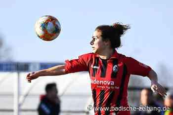 Versöhnlicher Abschluss: Die Frauen des SC Freiburg besiegen den 1. FFC Frankfurt mit 2:0 - SC Freiburg - Badische Zeitung