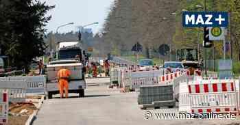 Neue Potsdamer Allee in Stahnsdorf gefährdet Schulweg der Kinder - Märkische Allgemeine Zeitung