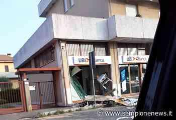 Rapina al bancomat dell'UbiBanca di via Varese a Gallarate - Sempione News