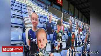 Wigan Athletic: Mum's pride at dead baby son's 'first game'