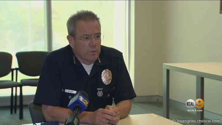 Only On: LAPD Chief Michel Moore Talks About Department's Future