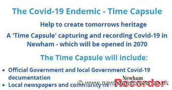 Newham charity AAA creating Covid-19 time capsule to be opened in 2070 - Newham Recorder
