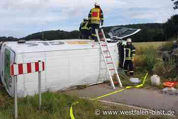 Zwei Verletzte nach Kollision - Westfalen-Blatt
