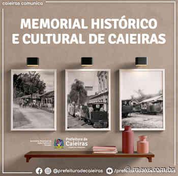 Caieiras inicia construção de Memorial Histórico e Cultural - RNews