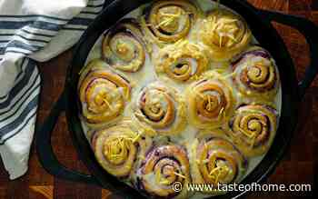 Joanna Gaines' Blueberry Sweet Rolls Are Summer's Better Version of Cinnamon Rolls