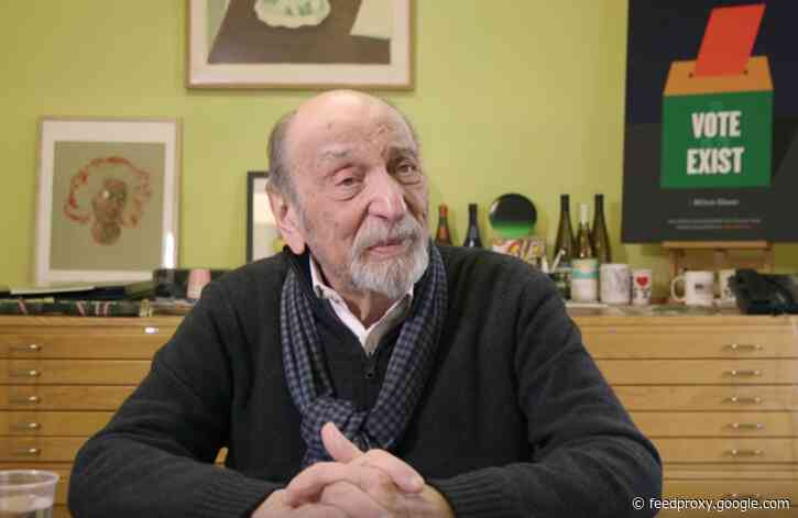 Milton Glaser (RIP) Presents 10 Rules for Life & Work: Wisdom from the Celebrated Designer