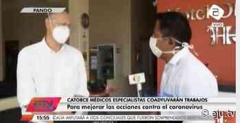 Catorce médicos especialistas coadyuvarán trabajos contra el Covid-19 en Pando - eju.tv