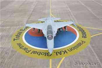 Korea Aerospace wins 688 bln-won trainer jet deal - Yonhap News