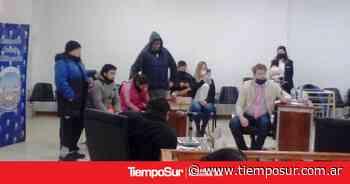 Por unanimidad aprobaron la renuncia de Maldonado - TiempoSur Diario Digital