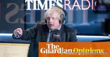 Boris Johnson bats back gentle lobs on Times Radio's tame debut - The Guardian