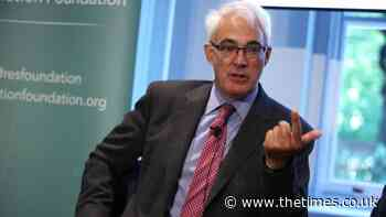 Lord Darling claims Boris Johnson has aided case for Scottish independence - The Times