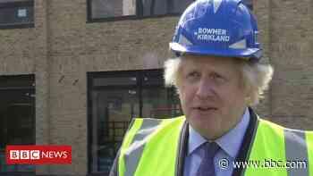 Boris Johnson on 10-year plan to rebuild English schools - BBC News