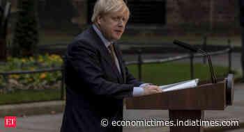 UK's Boris Johnson says he will double down on spending plans - Economic Times