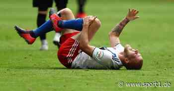 Hamburger SV: Rick van Drongelen erleidet Kreuzbandriss bei Pleite - SPORT1