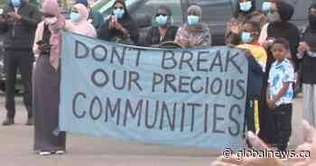 Edmonton protest calls on Habitat for Humanity to restore original agreement with people it's housing