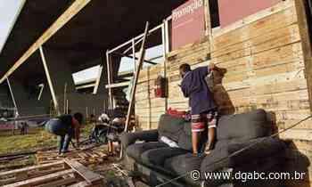Famílias invadem terreno em Diadema - Diário do Grande ABC