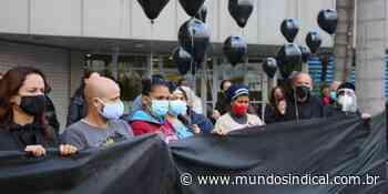 Servidores de Diadema protestam contra assédio moral após morte de enfermeira | Notícias - Mundo Sindical - Sindicalismo levado a sério!