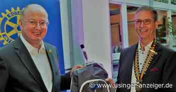 Bernhard Vogt ist neuer Präsident des Rotary Clubs Usingen - Usinger Anzeiger