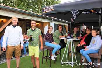 Feestzaal tovert terras om tot gezellige pop-uploungebar - Het Nieuwsblad