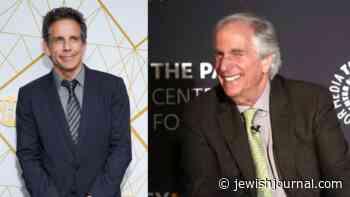 Ben Stiller Had a Fake Fonzie Autograph, So Henry Winkler Got Him the Real Thing - Jewish Journal