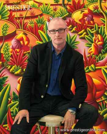 Bali-Based Artist Richard Winkler Talks About Going with the Flow - Prestige Online