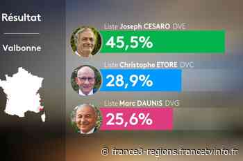 Municipales à Valbonne : Joseph Cesaro, le candidat écologiste élu avec 45,5 % fait exception dans les Alpes-M - France 3 Régions