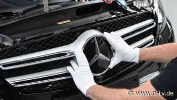 Arbeit an neuer Autogeneration: Daimler holt sich Hilfe aus Silicon Valley - n-tv NACHRICHTEN