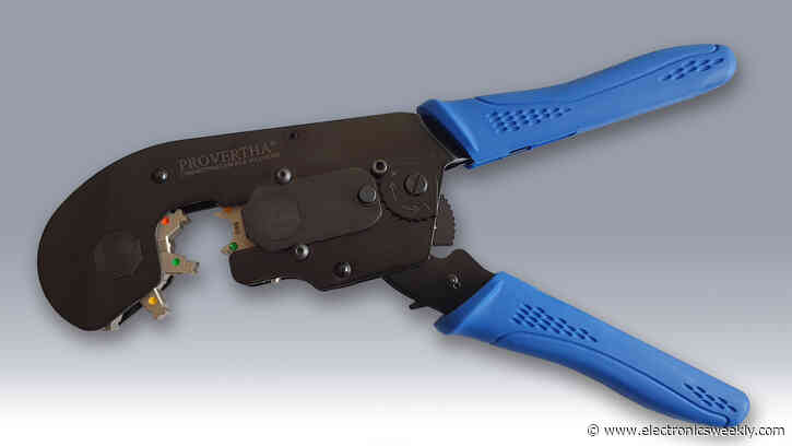 Multicrimp pliers for different cable diameters
