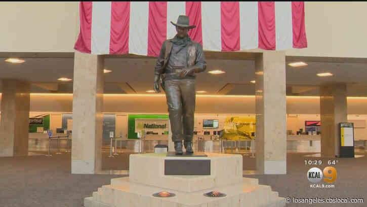 'It Was A Different Time': John Wayne's Son Responds To Calls To Rename OC Airport Over Playboy Interview