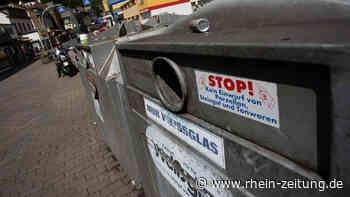 Zu hässlich für Cochem: Kommen Altglascontainer bald in einen Wertstoffhof? - Rhein-Zeitung