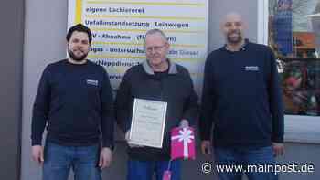 Franz Grotz arbeitet seit 25 Jahren im Maintal Autohaus - Main-Post